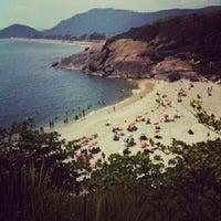 Photo taken at Praia do Sossego by Luis N. on 12/8/2012