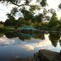 Photo taken at Cox Arboretum MetroPark by Laura E. on 9/8/2012