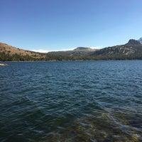 Photo taken at Caples Lake by Karthik R. on 11/12/2016