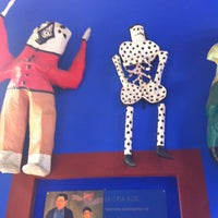 Photo taken at Museo Frida Kahlo by Fercho A. on 1/18/2013