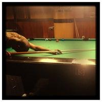 Photo taken at Galaxy Billiards Cafe by Rachel L. on 12/4/2012