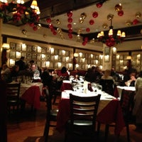Photo taken at Petterino's by Christina R. on 11/16/2012