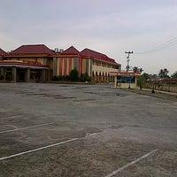 "Photo taken at Universitas Putra Indonesia ""YPTK"" by Rere M. on 1/16/2014"