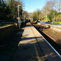 Photo taken at Fulwell Railway Station (FLW) by zbynda s. on 3/24/2014