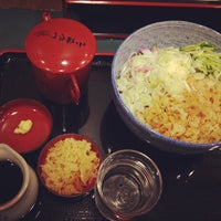 Photo taken at 小諸そば 九段下店 by Tsuchimoto M. on 9/2/2013