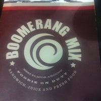 Photo taken at Boomerang Mix by Marcella M. on 1/7/2013