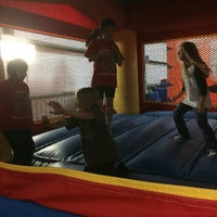 Photo taken at Jump'n Jungle by Doug D. on 5/14/2015