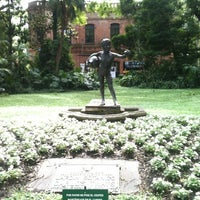"Photo taken at Jardín Botánico ""Carlos Thays"" by Paloma Y. on 11/10/2012"