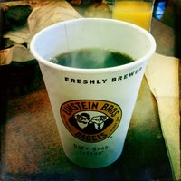 Photo taken at Einstein Bros Bagels by Oliver R. on 9/16/2013