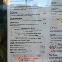 Photo taken at Tito's Burritos by danielle m. on 9/13/2013
