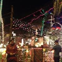Photo taken at Christmas Light Display (christmasdisplay.org) by Fritz E. on 12/29/2013