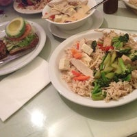 Photo taken at Truly Vegan Restaurant by Kyveli D. on 1/3/2013