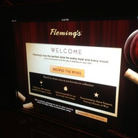 Photo taken at Fleming's Prime Steakhouse & Wine Bar by Michael N. on 6/20/2013