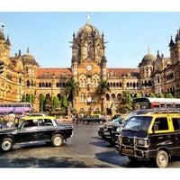 Photo taken at Chhatrapati Shivaji Terminus by Adam R. on 11/16/2012