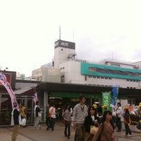 Photo taken at Matsudo Station by Koichi J. on 10/27/2012