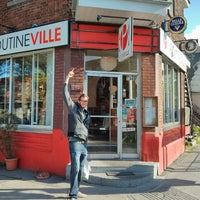Photo taken at Poutineville by B. B. on 5/12/2013