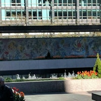 """Photo taken at Chagall Mosaic, """"The Four Seasons"""" by Kirstjen L. on 5/6/2016"""