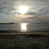 Photo taken at Pavillion Beach by Kim H. on 8/4/2013
