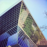 Photo taken at Seattle Central Library by Brandon S. on 4/22/2013