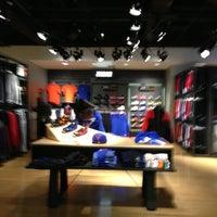Photo taken at Niketown Los Angeles by Patrick Paul N. on 1/20/2013