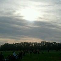 Photo taken at Joyce Park FOSC Fields by Eric S. on 9/15/2012
