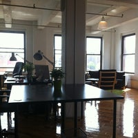 Photo taken at DUMBO Startup Lab by Patty G. on 4/30/2012