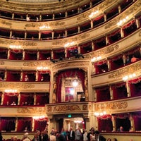 Photo taken at Teatro alla Scala by Laurent D. on 6/18/2013