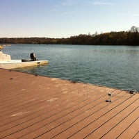 Photo taken at Lady Bird Lake by Charlie T. on 3/2/2013