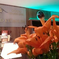Photo taken at Wellness hotel Pod Kyčmolem by Tereza on 5/1/2015