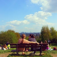 Photo taken at Hampstead Heath by Assel U. on 5/6/2013
