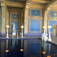 Photo taken at Hearst Castle Roman Pool by Jessica K. on 9/5/2016