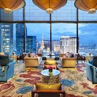 Photo taken at Tea Lounge at Mandarin Oriental, Las Vegas by Yext Y. on 11/30/2016