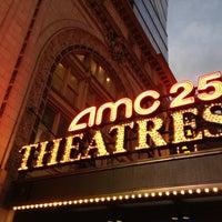 Photo taken at AMC Empire 25 by Matthew🗽 on 12/5/2012
