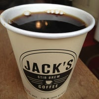 Photo taken at Jack's Stir Brew Coffee by Matthew🗽 on 2/4/2013