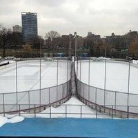 Photo taken at Lasker Pool & Ice Rink by Matthew🗽 on 3/11/2013