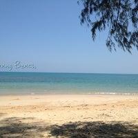 Photo taken at Nai Yang Beach by WAN W. on 4/20/2013