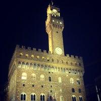 Photo taken at Piazza della Signoria by Martina B. on 7/27/2013