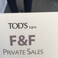 Photo taken at Tod's Spa by Michela C. on 5/18/2016