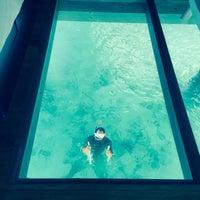 Photo taken at Le Méridien Bora Bora by Arianna O. on 9/7/2015
