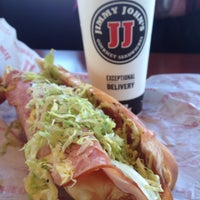 Photo taken at Jimmy John's by Red F. on 1/15/2016