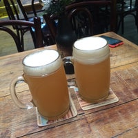 Photo taken at Cervejaria Backer by Adriano C. on 12/5/2015