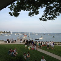 Photo taken at Larchmont Yacht Club by Deborah C. on 6/22/2013