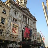 Photo taken at Victoria Palace Theatre by Manu E. on 7/6/2013