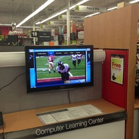 Photo taken at Staples by Francisco E. on 2/4/2013