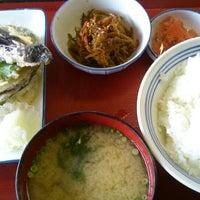 Photo taken at 厚木恩名食堂 by Keiiti K. on 3/8/2015