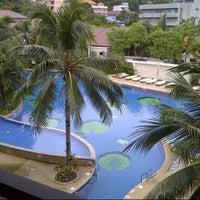 Photo taken at Alpina Phuket Nalina Resort And Spa by Rowell R. on 6/2/2013