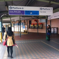 Photo taken at Redfern Station (Concourse) by Tengu T. on 5/27/2013