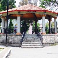Photo taken at San Pedro Atocpan by Marlon C. on 2/25/2016