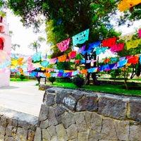 Photo taken at San Pedro Atocpan by Marlon C. on 4/11/2016