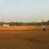 Photo taken at Shivaji Park by Mehul S. on 2/5/2013